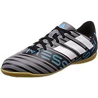 Adidas Nemeziz Messi Tango 17.4 In J, Zapatillas de fútbol Sala Unisex niño, Gris (Gris/Ftwbla/Negbas 000), 31 EU