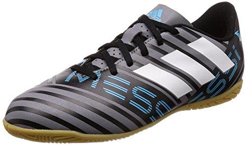 Adidas Nemeziz Messi Tango 17.4 IN J, Zapatillas de fútbol Sala Unisex niño, Gris (Gris/Ftwbla/Negbas 000), 33.5 EU