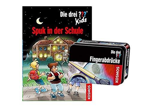 Die DREI ??? Kids: Spuk in der Schule (Gebundenes Buch) + Forscherkästchen ab 8