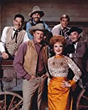 Gatsbe Exchange Old Tin Sign Gunsmoke Cast Color Celebrity Hollywood Stars of The Past Made in The USA by Mostly Art Struff