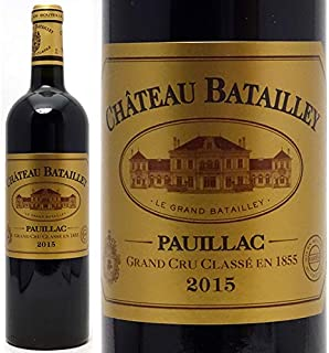 2015 シャトー バタイィ 750ml ポイヤック5級 ボルドー フランス 赤ワイン コク辛口 ((ABBT0115))