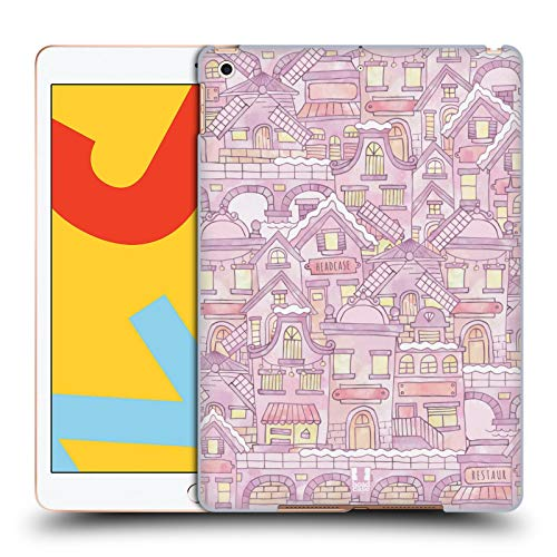 Head Case Designs Amsterdam Doodle Maps Hard Back Case Compatible for iPad 10.2 (2019)