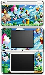 New Super Mario Bros 2 3D Land World Luigi Goomba Video Game Vinyl Decal Skin Sticker Cover for Nintendo DSi XL System