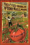 Cartel de metal para decoración de pared, diseño de catálogo de semillas de jardinería, restaurante, garaje, cafetería, regalo de metal, 20,3 x 30,5 cm