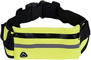YWSCXMY-AU Men's and Women's Pockets Banana Bag Men's and Women's Wallet Tote Bumbag Waist Bag Fanny Pack (Color : Green)