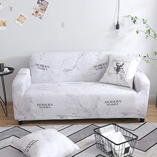 Flqwe Rekbare bescherming voor meubels voor huis, woonkamer, bankovertrek in L-vorm, bankovertrek met elastische bodem