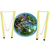 Genérico Pompero para Hacer Pompas de Jabon Gigantes Pulpos Piscina Pomperos para Niños Pack Juegos Exterior de Burbujas Gigantes con Jabon Pompas para Rellenar