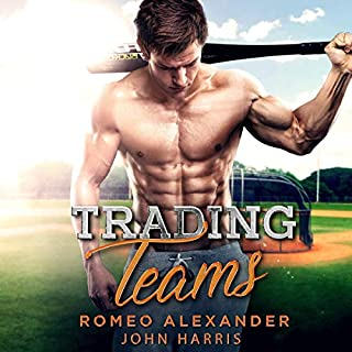 Trading Teams     A Jock Nerd Romance              By:                                                                                                                                 Romeo Alexander,                                                                                        John Harris                               Narrated by:                                                                                                                                 Kaeomakana Tiwanak                      Length: 6 hrs and 25 mins     1 rating     Overall 3.0