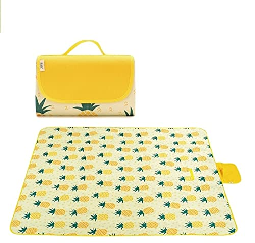 UKKO Bedsure Mantas para Sofás de Franela 195X200Cm Colorful Outdoor Waterproof Foldable Camping Mat Widen Picnic Mat Plaid Beach Blanket Multiplayer Tourist Mat