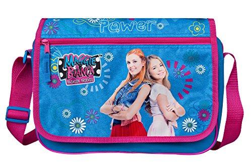 Undercover MGFF7644 Schultertasche, Maggie und Bianca, blau, 25 x 33 x 9 cm