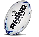 RHINO RUGBY Hurricane Practice Rugby Ball | Size 5 | Professional Grade Ball | Light Weight Design