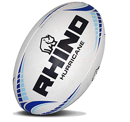 RHINO RUGBY Hurricane Practice Rugby Ball - Size 4