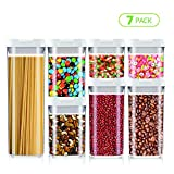 Airtight Food Storage Container Set, Kitchen and Pantry Containers, BPA Free Containers, Keep