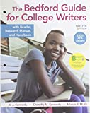 Loose-leaf Version for The Bedford Guide for College Writers with Reader, Research Manual, and Handbook, 2020 APA Update