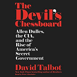 The Devil's Chessboard audiobook cover art