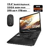 2020 Asus TUF 15.6 Inch 120Hz FHD 1080P Gaming Laptop (AMD...