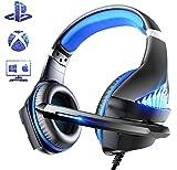 Viixm Cuffie Gaming per PS4 Xbox One, Cuffie da Gaming con microfono e Bass stereo, Microfono...