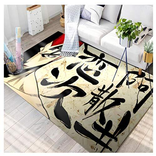 Mianbao Teppich Wohnzimmer Kind Schlafzimmer Läufer Bereich Bodenmatte Flur Küche Cartoon Anime Große Heimdekoration Rechteck Kind Play Boy Geschenk