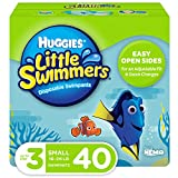 Huggies Little Swimmers Swim Diapers, Size 3 Small, 40 Ct