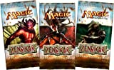 3 (Three) Packs of Magic the Gathering - MTG: Zendikar Booster Pack Lot [Toy]