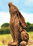 HH Home Hut Large Garden Ornament March Hare Rabbit Animal Sculpture outdoor Wood Effect 18