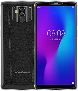 DOOGEE N100, 4GB+64GB, Dual Back Cameras, Face ID & Fingerprint Identification, 10000mAh Battery, 5.99 inches Android 9.0 Pie Helio P23 Octa Core up to 2.0GHz, Network: 4G, Dual SIM (Dark Knight)
