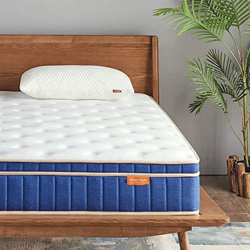 Sweetnight Ocean Blue 8' Hybrid Mattress | Gel...