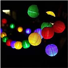 KUHFSY Luces de halloween 20 LED Waterproof Solar Power Lantern Lamp Festive Garden Ball String Fairy Light Christmas Outdoor Lighting Q