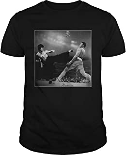 New Collection T shirt for Woman, Man anniversary Bruce Lee vs Muhammad Ali shirt