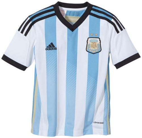 adidas AFA argentinien Home - Camiseta, Color Blanco, Talla 12 años (152 cm)