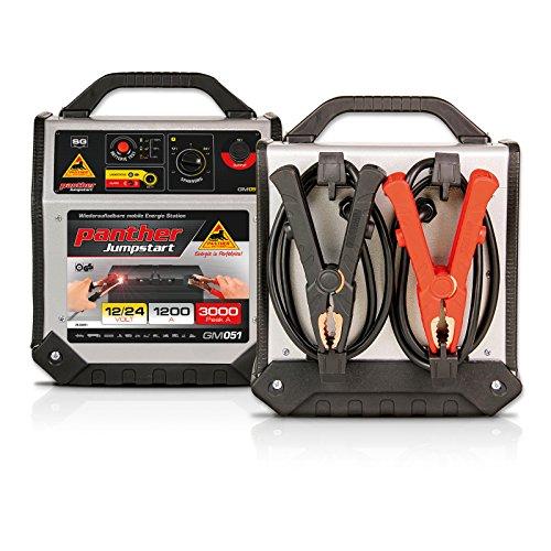 Panther JumpStart GM051 12 V / 24 V 3000 A Booster mob. Starthilfe für Auto PKW