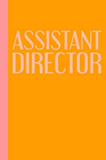 Assistant Director: Modern 6 X 9 Theater Notebook to Use for Show Notes, Blocking, Planning, and More During Musicals and ...