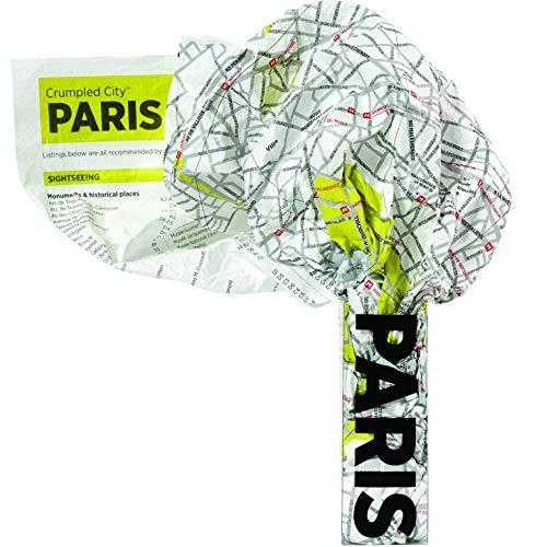 Crumpled City Map-Paris