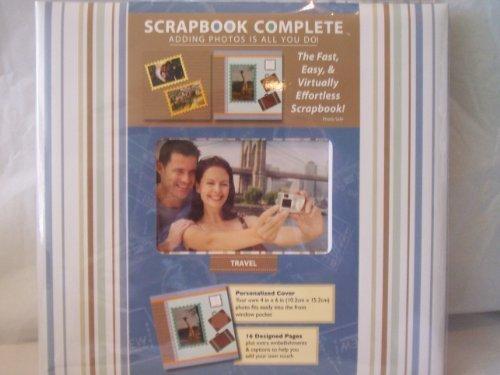 Scrapbook Complete - Travel Album - 54 Piece Set - Scrapbooking Made Simple