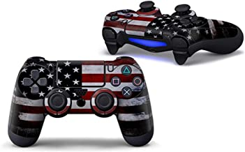 Sololife PS4 Controller Skin Stickers for Sony Playstation 4 DualShock Wireless Controller - American Flag