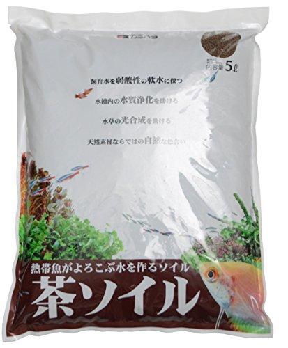 カミハタ 茶ソイル 5L