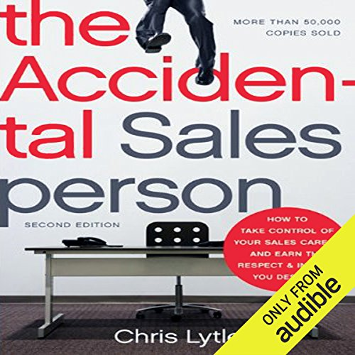 The Accidental Salesperson audiobook cover art