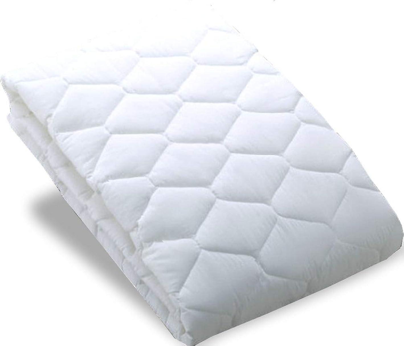 溶かす航空機衛星ホテル抗菌防臭ベッドパッド 大きなK-1サイズ
