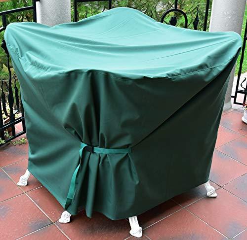 Duckbill pélican des Produits de Protection étanche Ensemble de Jardin Mobilier de Jardin Table et Quatre Chaises en Fonte et en Aluminium Housse de Protection pour