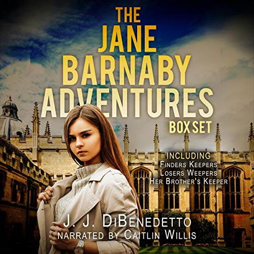 The Jane Barnaby Adventures Box Set cover art