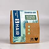 My Hair Festes Shampoo 1 Stück mit 60 g, Fichtennadel & Eukalyptus