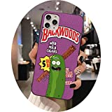 Rick Morty Backwoods Phone Case for iphone 12 pro max mini 11 pro XS MAX 8 7 6 6S Plus X 5S SE 2020 XR case,a9,For iphone 12