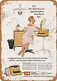 Sary buri Metal Tin Sign Poster IBM Electric Typewriters