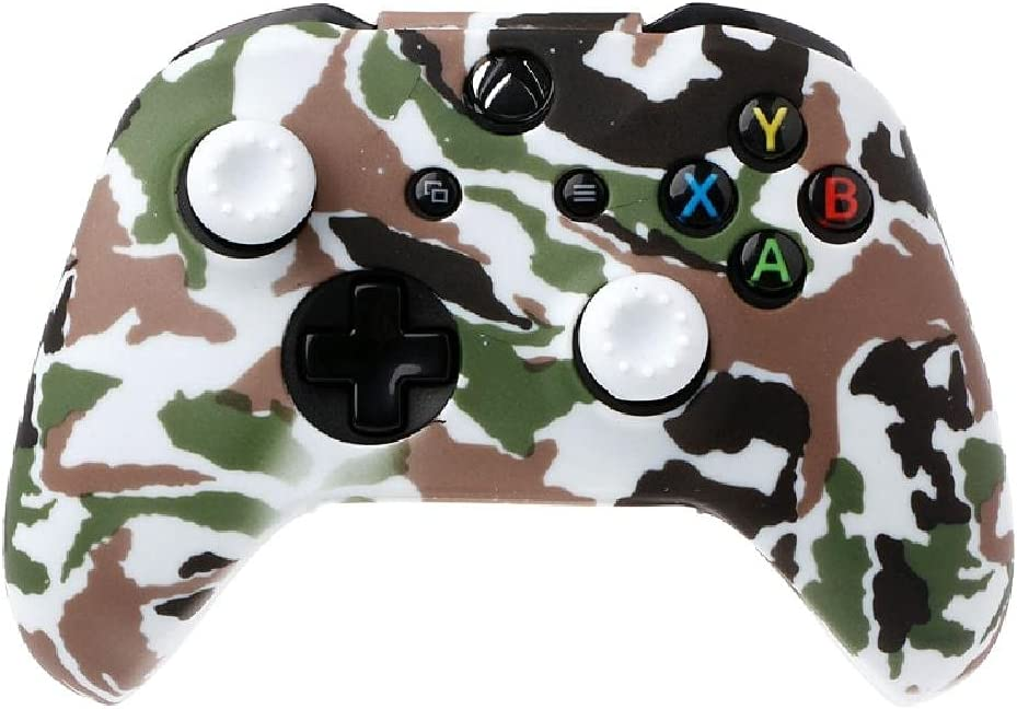 RipengPI Gamepad Faceplate Cover Max 83% OFF Silicone Camouflage Manufacturer regenerated product Cov