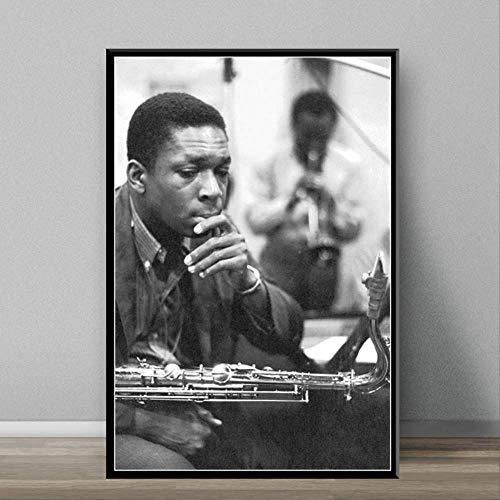 MZCYL Rompecabezas 1000 Piezas John Coltrane Jazz Músico Cantante Estrella Arte Cartel para Adultos Juegos para Niños Juguetes Educativos MZ0254