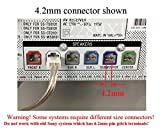 20ft Home Theater Speaker Wire / Cable / Cord for select Sony Samsung Pioneer Toshiba etc. 18 AWG wire; 4.2mm connector (plug);