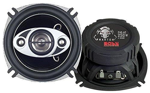 Per Pair BOSS Audio NX424 250 Watt Full Range 4 Way Car Speakers 4 Inch Sold in Pairs