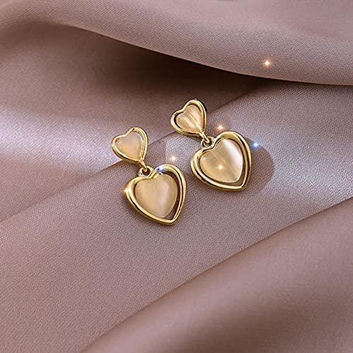 Eleganti E Squisiti Orecchini A Clip con Cerchio di Petali di Opale per Donna Nuovi Gioielli Classici Orecchino Senza Piercing per Ragazze da Festa di Lusso