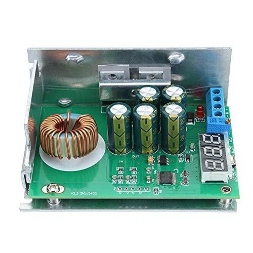 Larga vida Regulador de voltaje estabilizador convertidor de voltaje regulable Voltímetro 10A 300W Módulo de fuente de alimentación DC-DC de alta potencia de baja potencia 24V 19V 12V 5V durable