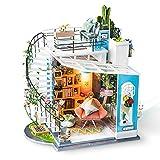 Rolife Miniatur Puppenhaus Kits Dora Loft Handwerk Holz Puppenhaus Modell Kits Jugendliche und...